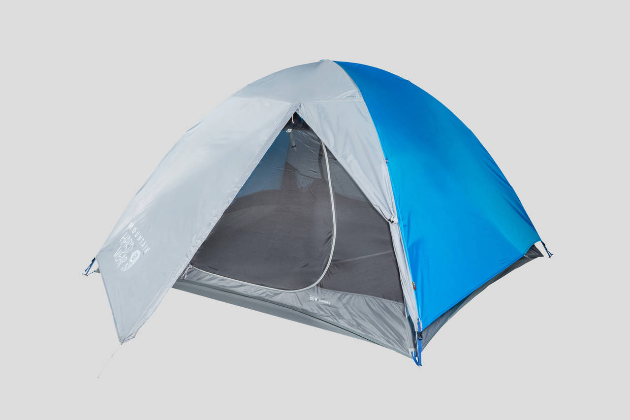 Camping gear in Whistler